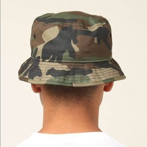 Accessories - 2/$30 Camo Bucket Hat Green Small Medium Camping